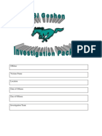 Case Investigation Packet