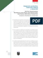 Aronskind R. (2015) Politicas Economicas y Crisis Externa