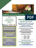 COSTA Newsletter - Mar 2018