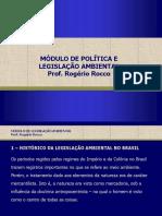 Política e Legislação Ambiental - Rogério Rocco