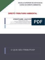 Direito TriburáRio Ambiental - Cristiane Jaccoud