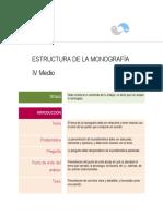 2013 Estructura de Una Monografía