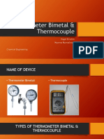 Laporan Industi Proses Thermometer Bimetal & Thermocouple.pptx
