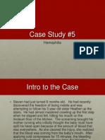 Case Study 5 Hemophilia