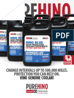 Pure Hino Coolant Flyer 2016 Ol