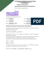 5. Guia Integración Por Sustitución Trigonométrica