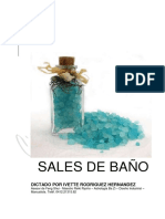 Manual Sales de Baño