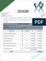 20171207 Cotización Licencia de Edificación Lino Quiroz