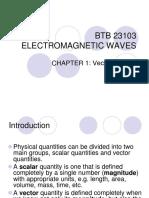 Chapter 1 Vector Algebra