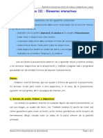 OpenOffice Impress III - Elementos Interactivos