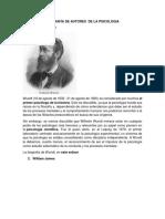 Biografía de Autores de La Psicologia