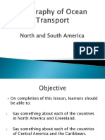 North and South America (P.P)