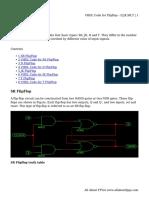 VHDL Code for Flipflop