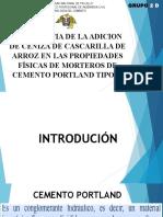 291500972 CEMENTO ECOLOGICO CON Ceniza de Cascarilla de Arroz