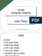CS430 Color