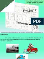 Unidad 4 - Cinemática Física I
