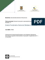 Analiza functionala a sectorului Sanatate in Ro.pdf