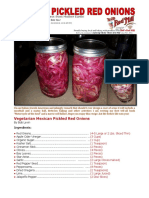 Bob Levin-Mexican Pickled Red Onions
