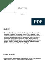 k Lettres