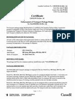 Certificat QSA Global