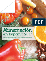 Alimentacion en España 2017
