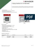 Data Sheet Model VD 053 En