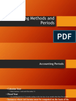 Accounting Methods and Period