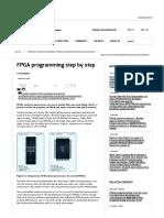 FPGA Programming Step by Step _ Embedded