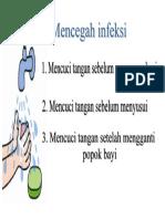 mencegah infeksi