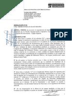 Resolución donde se solicita el impedimento de salida del país a PPK