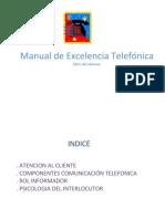 Manual de Excelencia Teléfonica
