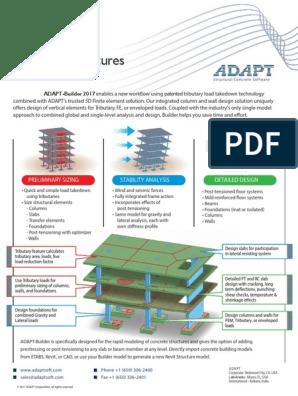 Builder 2017 | Prestressed Concrete | Beam (Structure)