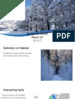 reasearch habitats