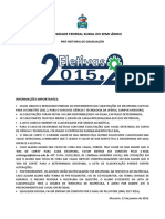 Deferimento Eletivas 2015.2