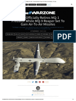 USAF Officially Retires MQ-1 Predator While MQ-9 Reaper Set to Gain Air-To-Air Missiles - The Drive