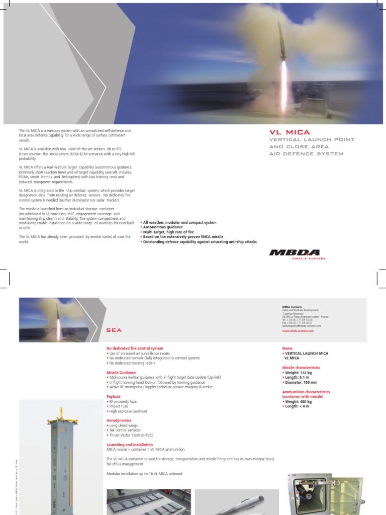 VL-MICA-SEA | Missile | Military Equipment
