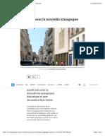 feu vert pour la nouvelle synagogue copernic - le parisien - copie