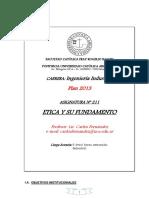 P. C .Etica y Su Fundamento (Industrial)