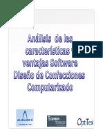 Análisis de Las Características y Ventajas Software Diseño de Confecciones Computarizado