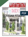 BAHAN AJAR PERSAMAAN DAN PERTIDAKSAMAAN LINIER & KUADRAT.pdf