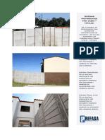 Sistemas Prefabricados Para Casas y Tapiales_Prefasa