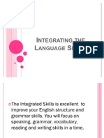 Integrating the Language Skills