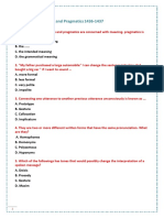 Final Exam(1)-Semantics and Pragmatics 1437