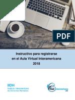 Instructivo de Registro Aula Virtual Interamericana
