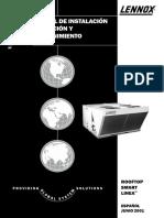 MANUAL de Unidad de Paquete LENNOX