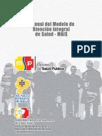 Modelo de Atención Integral Del Sistema Nacional de Salud 2013