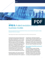 IFRS 9 the Silent Revolution in Banks Business Models
