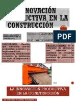 La Innovación Productiva en La Construcción
