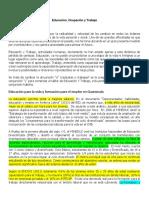 Resumen Eduación Ocupación y Trabajo (1)