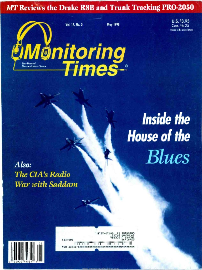 Monitoring Times 1998 05 | Federal Communications Commission